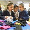 For these students, glove donation comes just at the right time