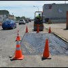 On Conant, it's not repaving but the next best thing