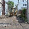 Alley repairs pick up where they left off from last year