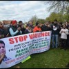 Bengali community protest against shooting and ongoing crime