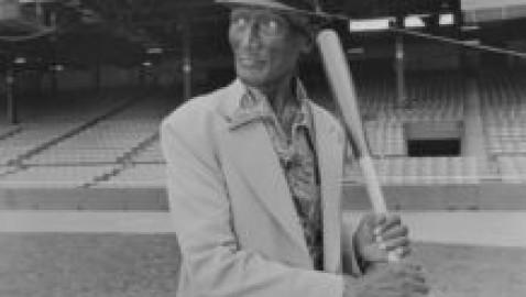 Photos of legendary Negro League baseball player emerge