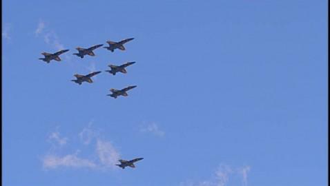 Blue Angels over Hamtramck