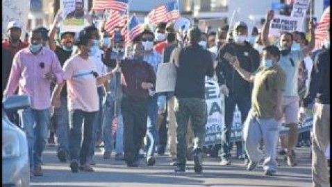 Hamtramck rallies in support of Black Lives Matter