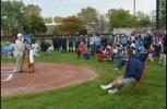 Dedication ceremony held for new baseball field