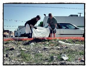cleanup volunteersrev