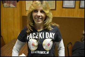 Um ... nice T-shirt.
