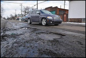 This winter has been especially rough on city streets. A resurfacing program will begin once warmer weather sets in.