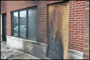 A building that was slated to open as a medical marijuana dispensary was the recent target of an arsonist.