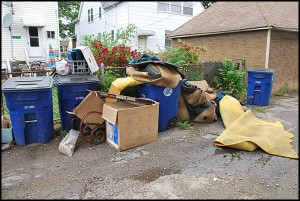 City Councilmember Robert Zwolak says homeowners are unfairly being charged twice for garbage service.