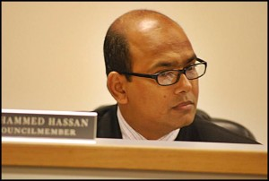 City Councilmember Mohammed Hassan has had trouble keeping up with his water bills for the past year, and even failed to make good on two payment plans he signed with the city. But now, he's all caught up.