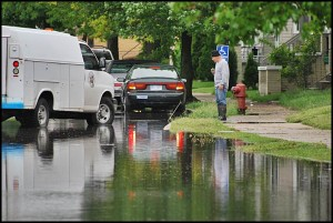The city is eligible to receive an $11.5 million loan to begin sewer repairs. The repairs will be the first step in solving the city's ongoing flooding problem.
