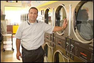 Frank Ayar, the owner of Walter's Shopping Place, listened to his customers' wants and needs and decided to open a laundromat next to his store.