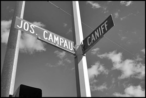 Four competing Bangladesh political groups are vying to rename Caniff and Jos. Campau in honor of two Bangladeshi political figures.