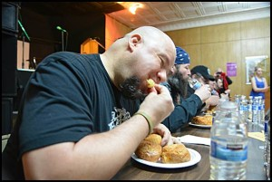 Reigning paczki eating contest champ Matthew Holowicki once again beat his competition, but also announced this was his last year to participate.
