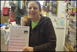 """Catrina Stackpoole of Recycled Treasurers now has some extra money thanks to a special fundraiser to continue her """"Beds for Kids"""" program. The program allows her organization to donate new beds to kids who don't have one."""