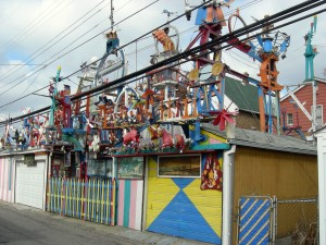 "The two Klinger houses that host the folk art collection known as ""Hamtramck Disneyland"" have been purchased by local investors and turned over to the city's art collective, Hatch."