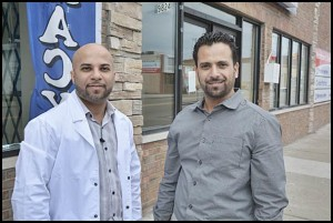 Bandar Saleh and Hasson Shariff had a vision for a former bakery on Conant, and they saw that come to life as a new pharmacy and medical clinic.