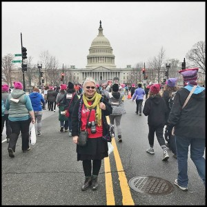 Mayor Karen Majewski recently attended the Women's March in Washington, DC. Photos supplied by Karen Majewski