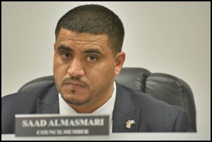 Councilmember Saad Almasmari