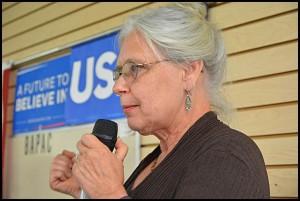 Mayor Karen Majewski is starting her fourth term in office.