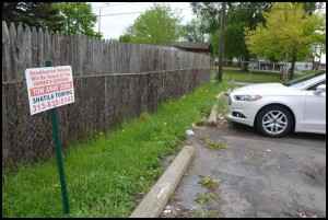 Another towing company has come under criticism for aggressively towing cars from a private parking lot that abuts a city-owned parking lot on Goodson, next to Veterans Memorial Park.