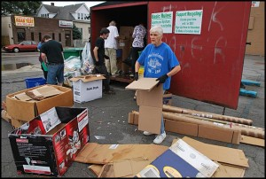 Aug. 11 will be the last day for the monthly recycling program.