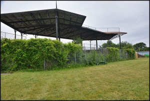 The renovation of the historic Hamtramck Stadium, located in Veterans Park, got a needed boost from Comerica Bank. Comerica recently donated $20,000 to the Friends of Historic Hamtramck Stadium.