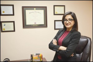 Attorney Aisha M. Farooqi recently opened an office in Hamtramck.