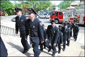 A federal grant that subsidized the salaries of firefighters will run out this coming January. City officials now have to find a way to replace that funding in the city's budget.